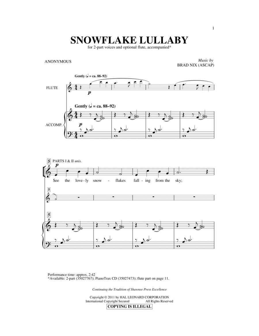 Snowflake Lullaby