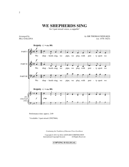 We Shepherds Sing