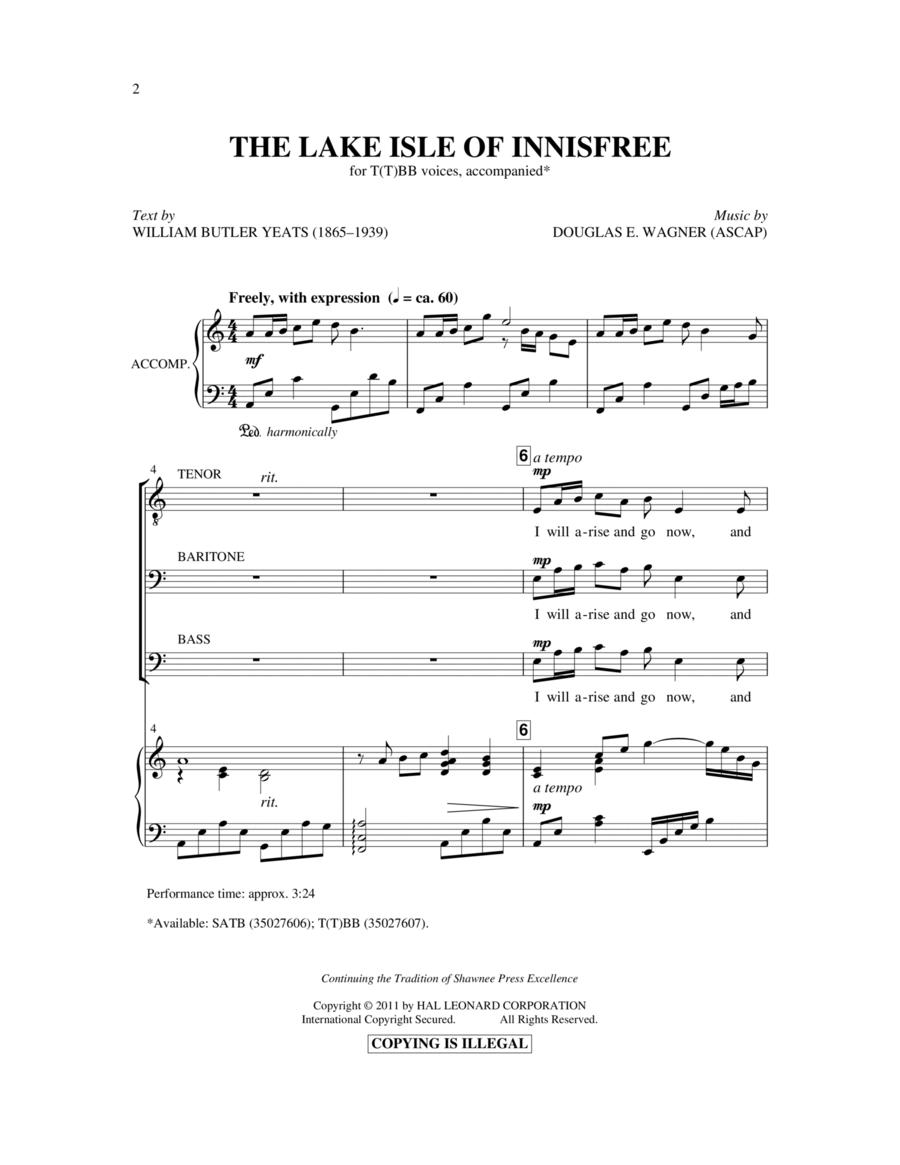 The Lake Isle Of Innisfree
