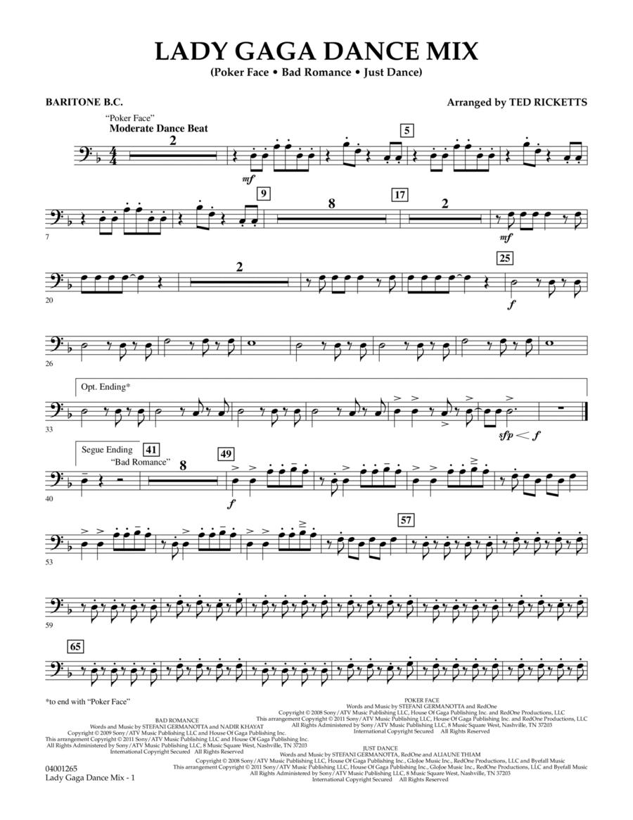 Lady Gaga Dance Mix - Baritone B.C.