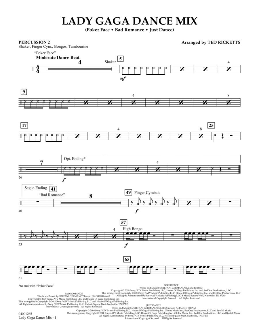 Lady Gaga Dance Mix - Percussion 2