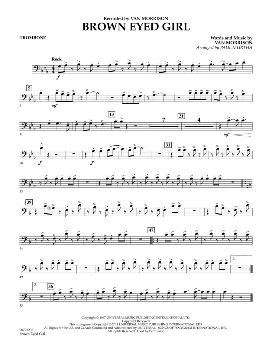 Brown Eyed Girl - Trombone