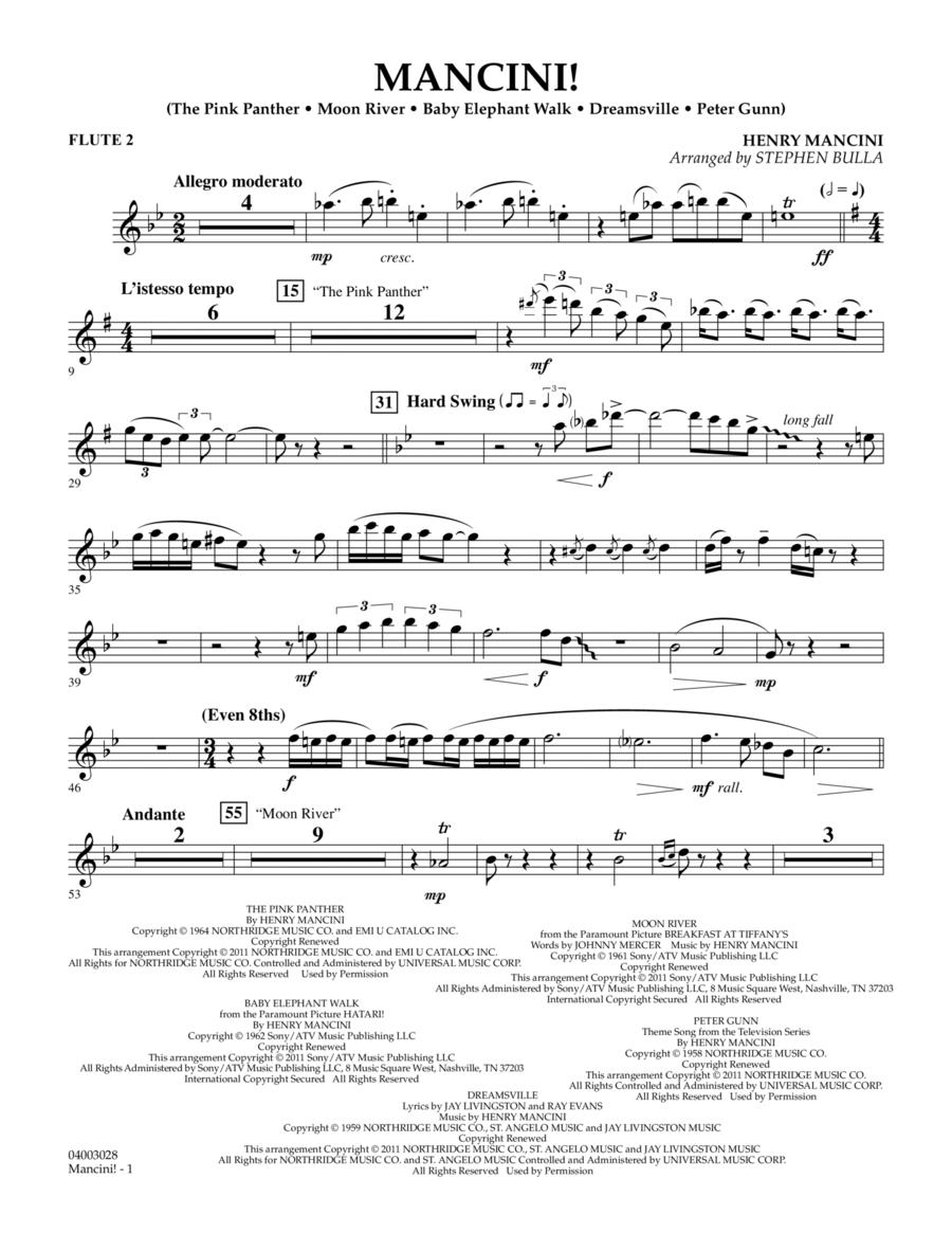 Mancini! - Flute 2