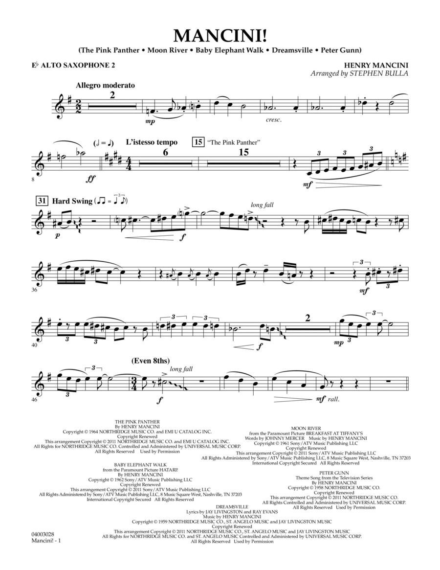 Mancini! - Eb Alto Saxophone 2