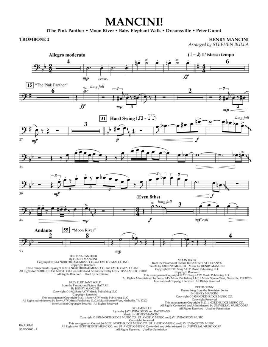 Mancini! - Trombone 2