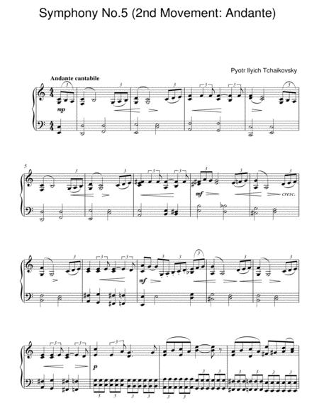 Symphony No. 5 (2nd Movement: Andante)