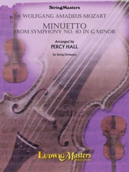 Minuetto (from Symphony No. 40 in G Minor)