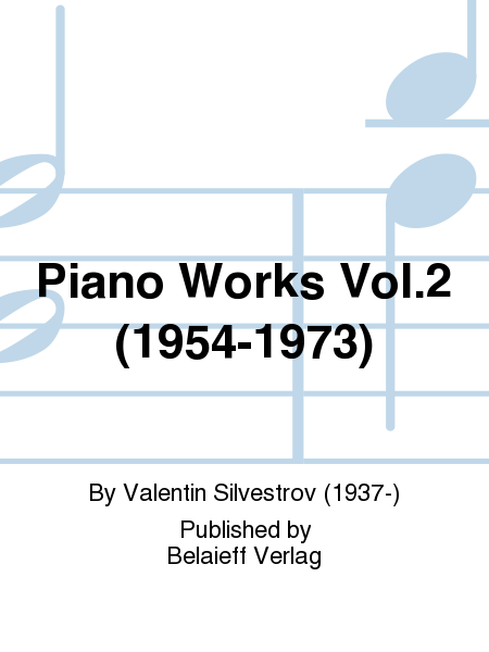 Piano Works Vol. 2 (1954-1973)
