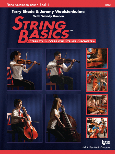 String Basics - Book 1 - Piano Accompaniment