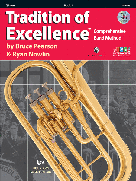 Tradition of Excellence Book 1 - Eb Horn