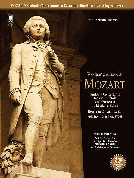 Mozart - Sinfonia Concertante in E-flat, KV364; Adagio in E; Rondo in C