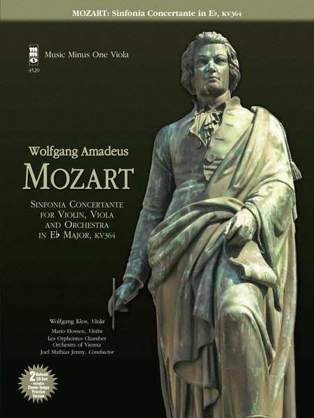 MOZART: Sinfonia Concertante for Violin, Viola and Orchestra in E-flat major, KV364 (MINUS VIOLA)