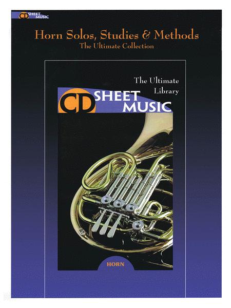 Horn Solos, Studies & Methods