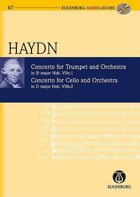 Concerto For Trumpet/orch Eb Maj, Concerto For Vc/orch Dmaj Study Score With Cd