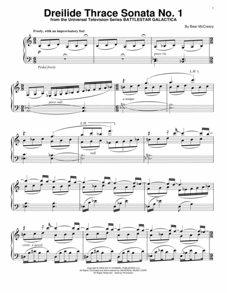 Dreilide Thrace Sonata No. 1