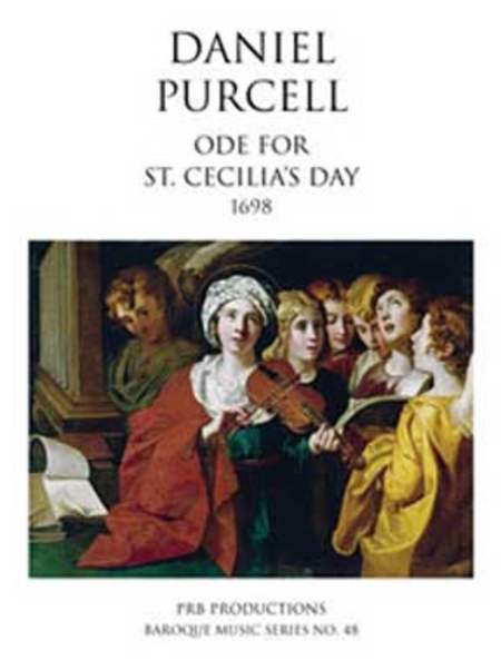 A Song on the Feast of St. Cecilia (score)