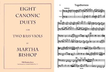Eight Canonic Duets (2 playing scores)