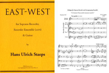 East-West (score and part set)