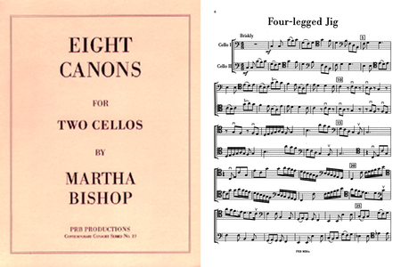 Eight Duets (2 playing scores)