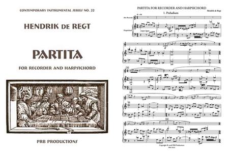 Partita (score and part set)