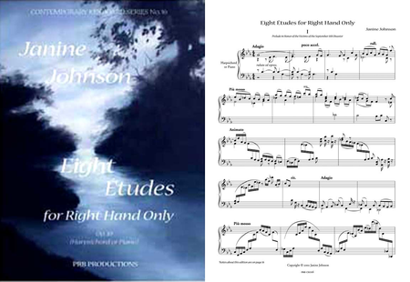 Eight Etudes for the Right Hand