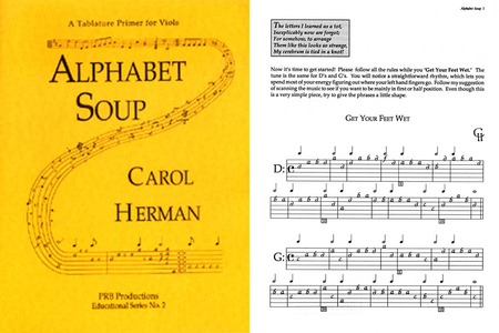 Alphabet Soup, a Viol Tablature Primer