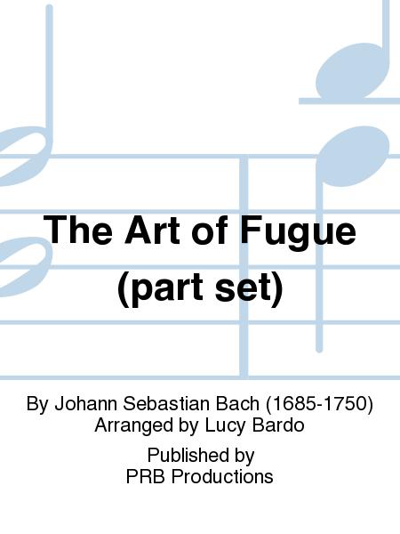 The Art of Fugue (part set)