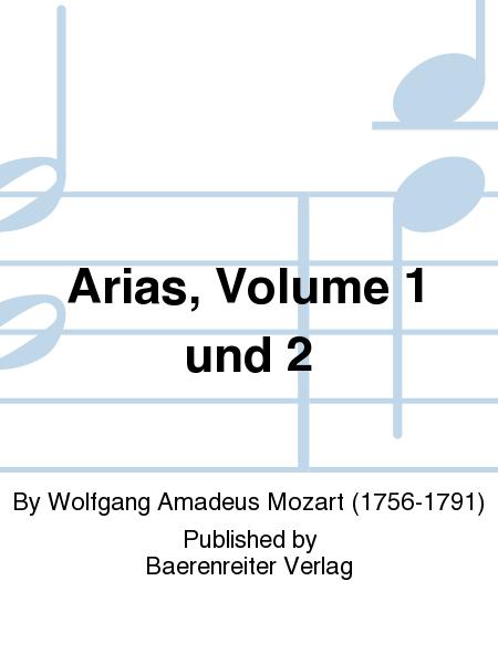 Arias, Volume 1 und 2
