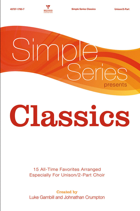 Simple Series Classics (Split Track Accompaniment CD)
