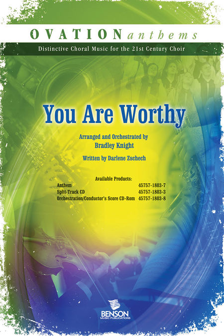 You Are Worthy (Orchestra Parts and Conductor's Score CD-ROM)