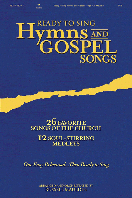 Ready To Sing Hymns and Gospel Songs (Book)