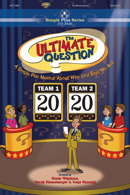 The Ultimate Question (Split Track Accompaniment CD)