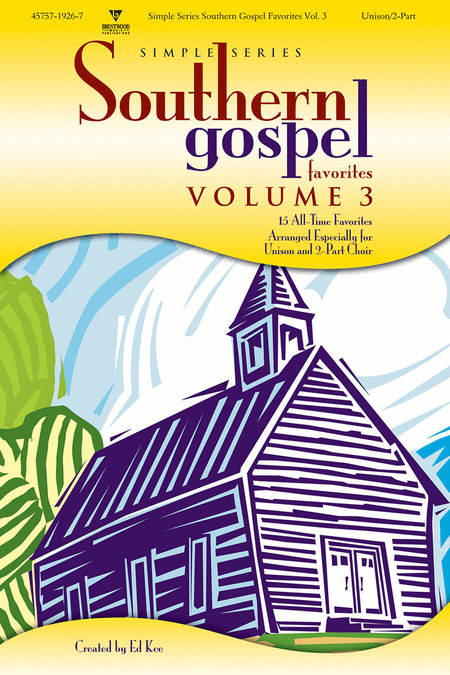 Simple Series Southern Gospel Favorites, Volume 3 (Split Track Accompaniment CD)