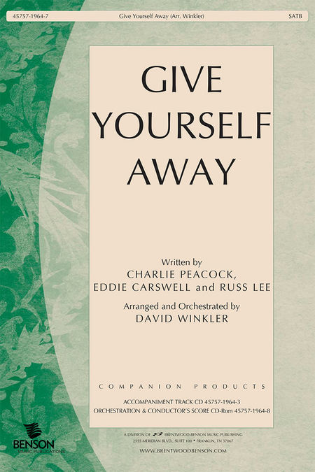 Give Yourself Away (Orchestra Parts and Conductor's Score, CD-ROM)