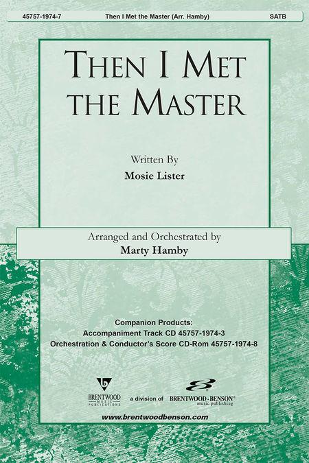 Then I Met The Master (Split Track Accompaniment CD)