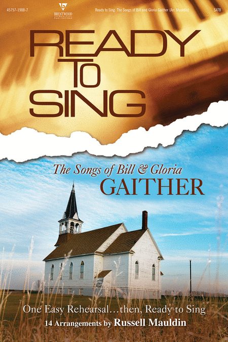 Ready To Sing The Songs Of Bill and Gloria Gaither (Split Track Accompaniment CD)