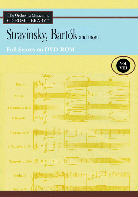 Stravinsky, Bartok and More - Vol. 8