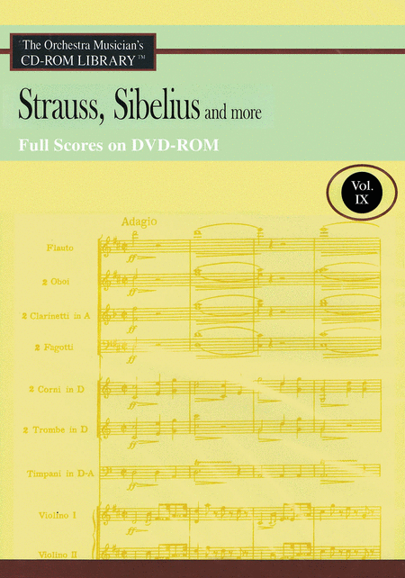 Strauss, Sibelius and More - Volume 9