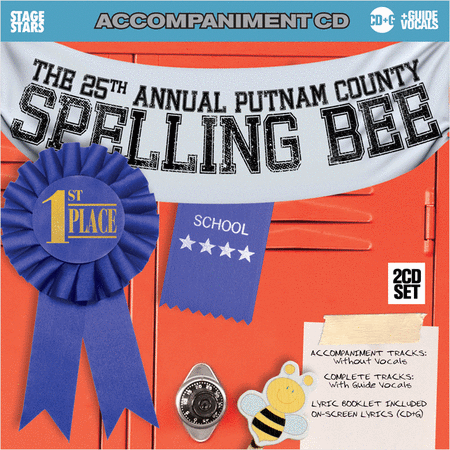 The 25th Annual Putnam County Spelling Bee (accompaniment/karaoke CDG)