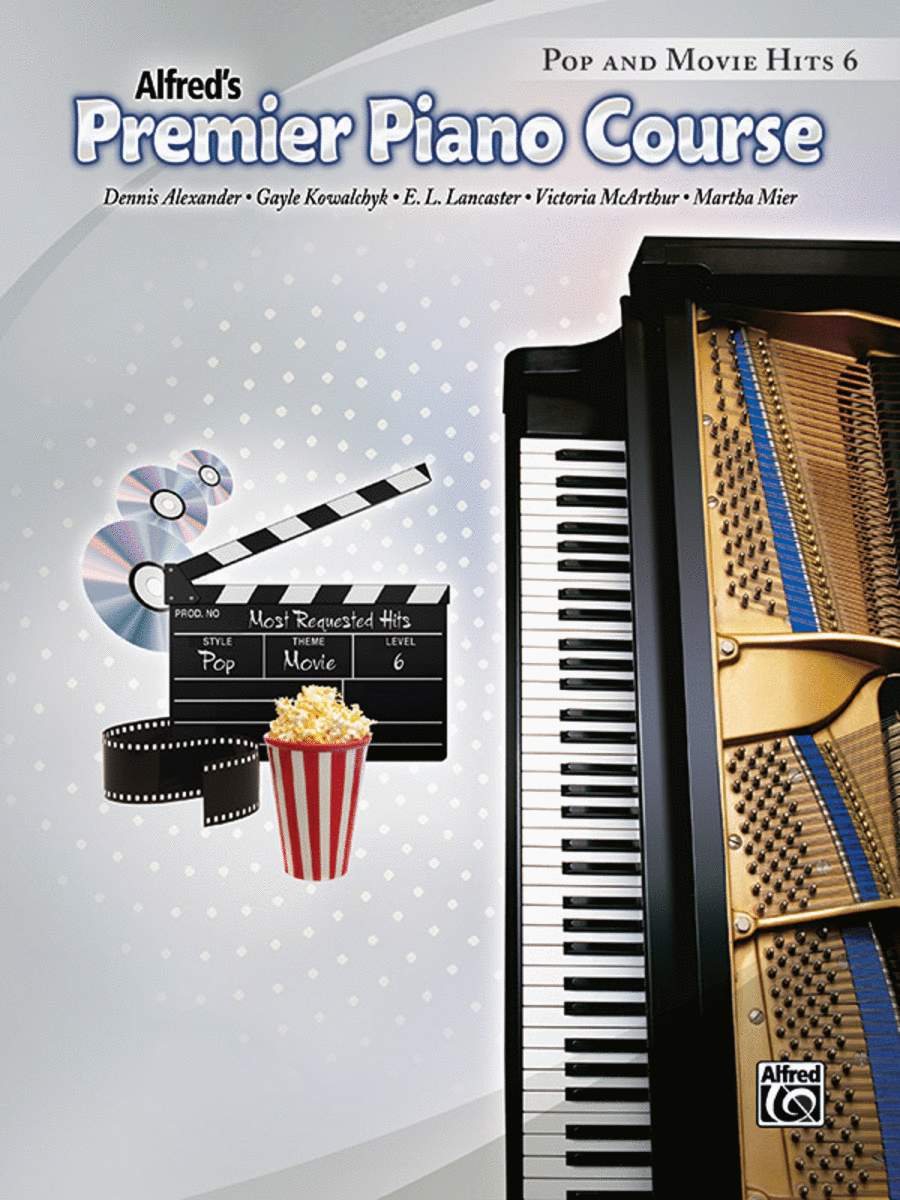 Premier Piano Course Pop and Movie Hits, Book 6