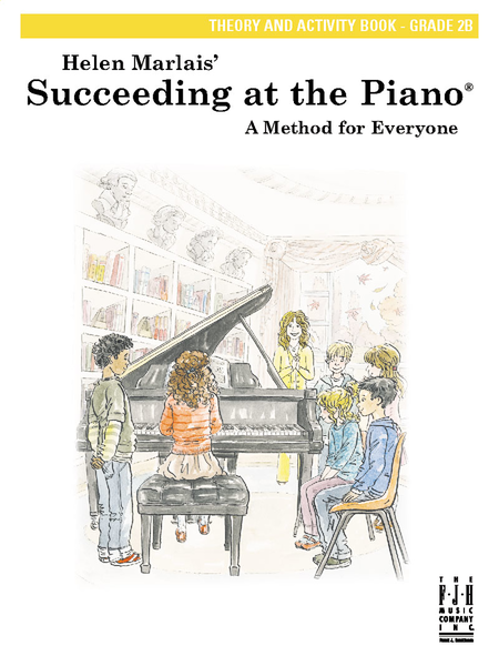 Succeeding at the Piano Theory and Activity Book, Grade 2B