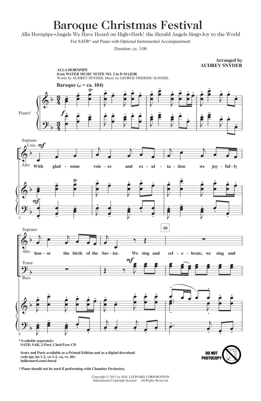 Baroque Christmas Festival (Medley)
