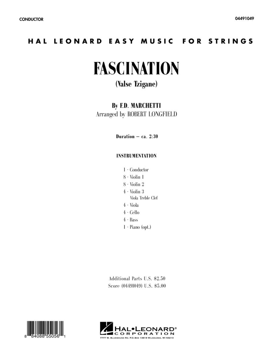 Fascination (Valse Tzigane) - Full Score