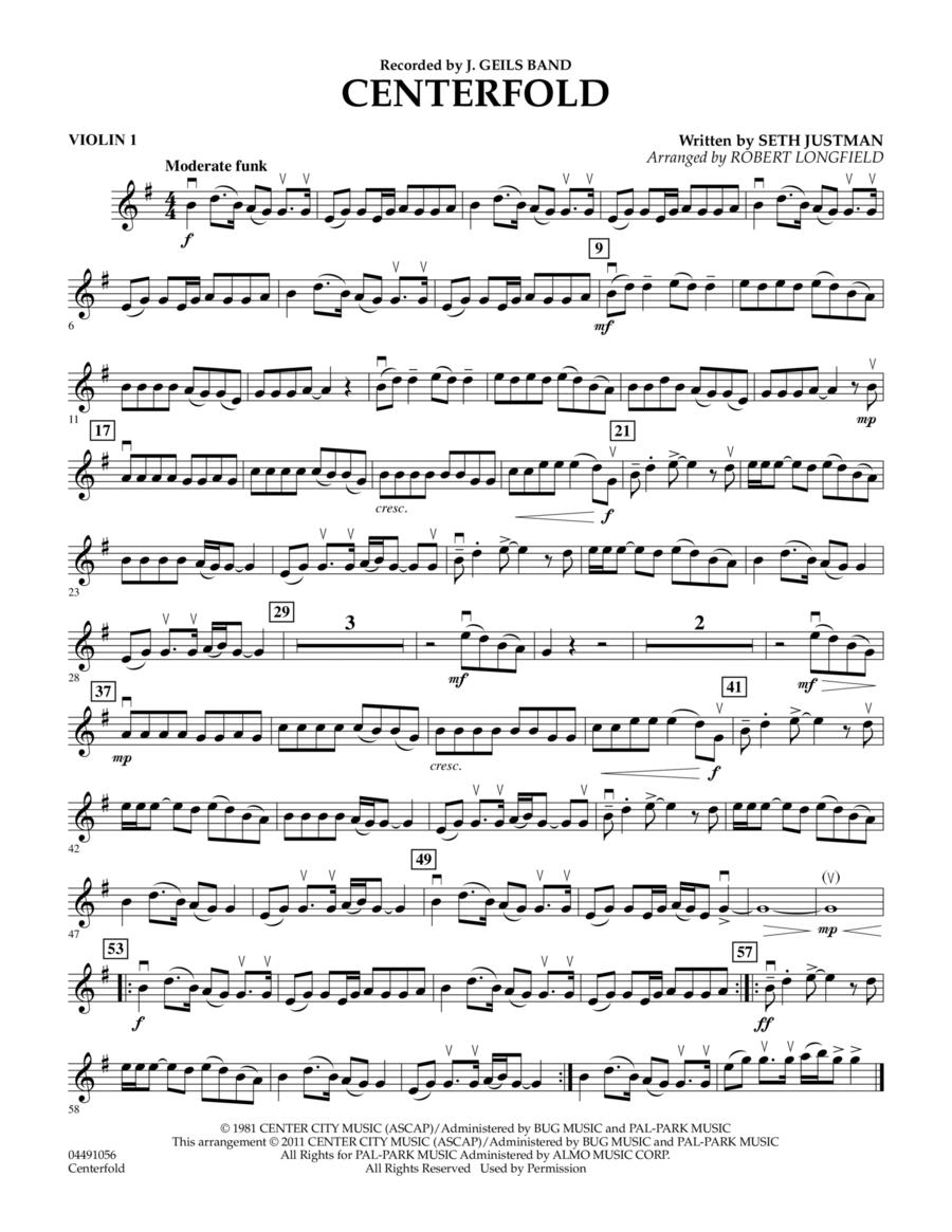 Centerfold - Violin 1