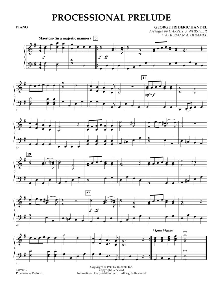 Processional Prelude - Piano