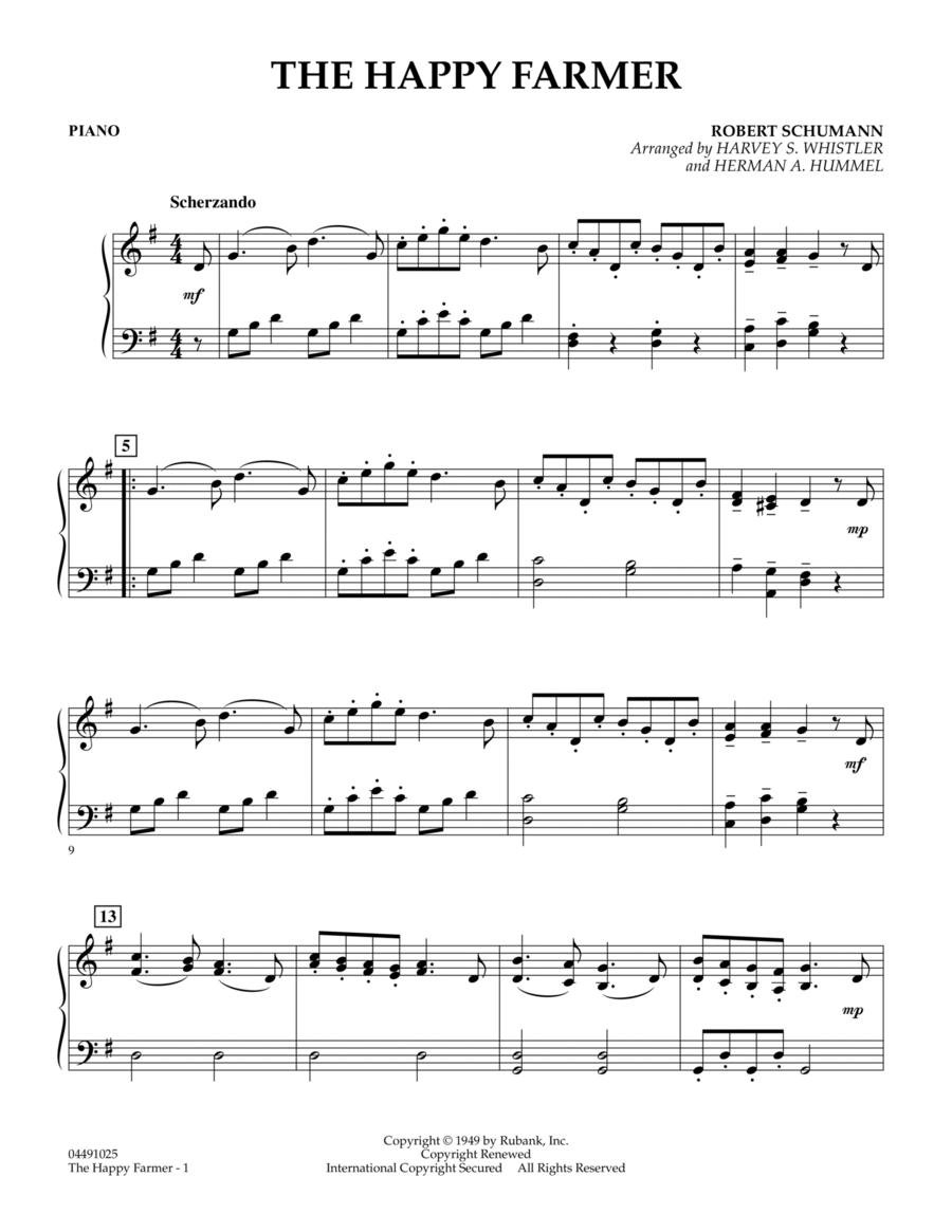 The Happy Farmer - Piano