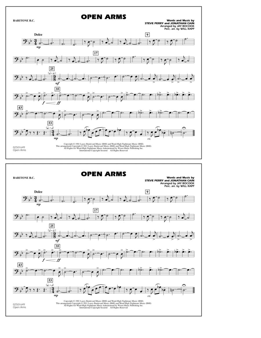 Open Arms - Baritone B.C.