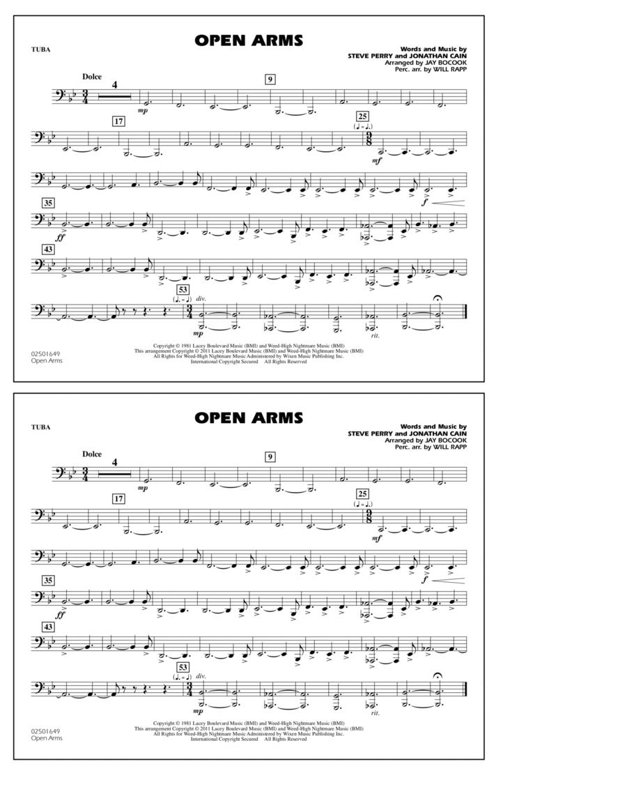 Open Arms - Tuba