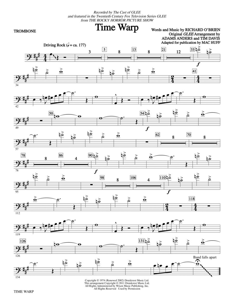 Time Warp - Trombone