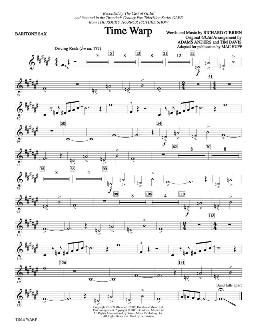 Time Warp - Baritone Saxophone